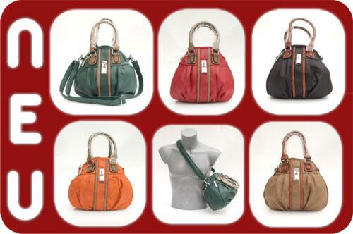 Schwarz Damentasche Optik Rot Soil Grün Schultertasche Handtasche Leder Tasche QCtshrdx