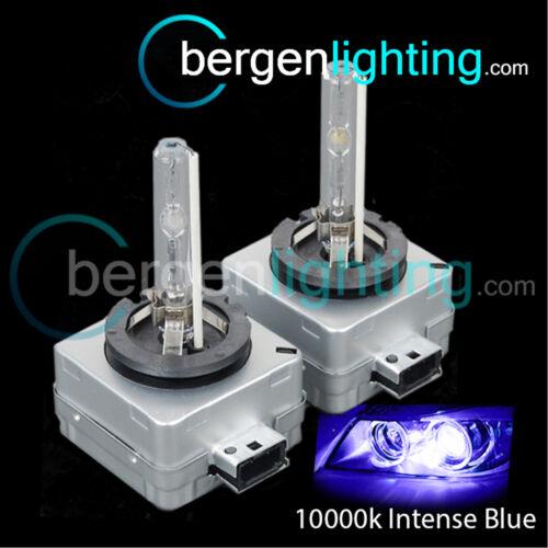 D3S Pair HID Headlamp bulbs 3000k 4300k 6000k 8000k 10000k Replaces Factory Fit