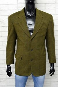 Giacca-HUGO-BOSS-Uomo-Taglia-46-Blazer-Jacket-Man-Vintage-Coat-Lana-Vergine