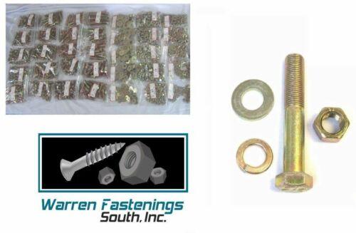 "Details about  /Grade 8 FINE Bolt Nut /& Washer Assortment 1625 pcs 1//4 Thru 5//8 up to 6/"""