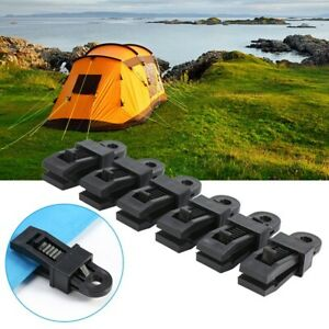 5X Reusable Tent Tarp Tarpaulin Clip Clamp Buckle Camping Tool Heavy Duty Sale C