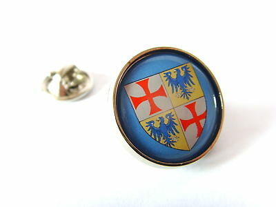 GRAND MASTER ROBERT DE SABLE KNIGHTS TEMPLAR PIN BADGE