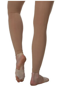 9c2300b833628 Body Wrappers A33 Women's Size Large/Extra Large Suntan Footless ...