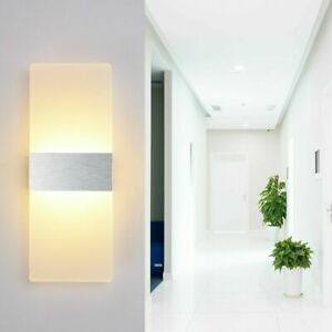 Modern-LED-Wall-Light-Waterproof-Exterior-Up-Down-Cube-Sconce-Lamp-Fixtures-12W