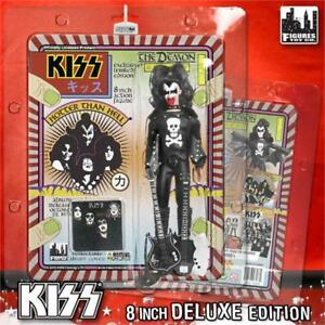KISS-8-034-Gene-Simmons-Retro-Demon-Hotter-Than-Hell-Bloody-variante-amp-guitare