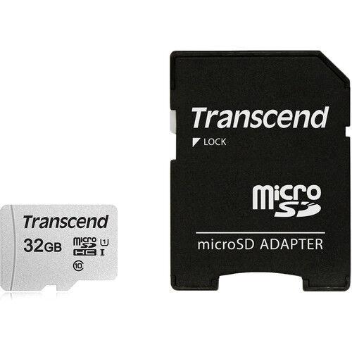 Transcend MicroSD SDHC 32GB Memory G3 L9 G Stylo 2 Adapter for LG V7 V40