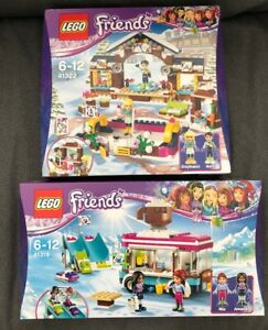 Lego Friends Snow Resort Ice Rink Hot Chocolate Van 41322
