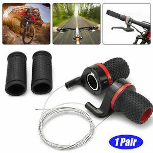 Bicycle-Shift-Levers-Handle-Bike-Twist-Grip-Gear-Cycle-Speed-Handlebar-Shifter