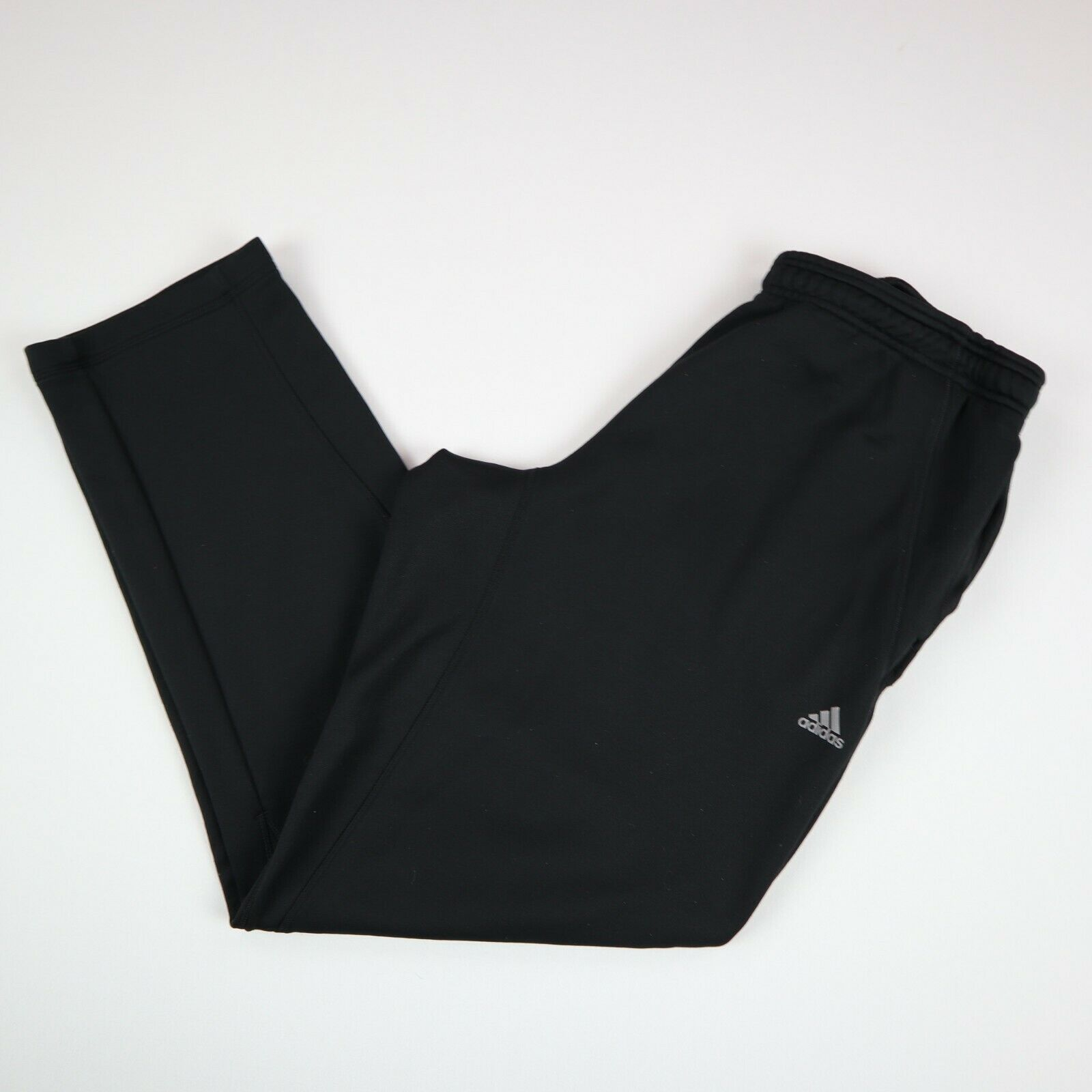 Adidas Womens Joggers Jogging Running Bottoms Used Vintage Track Pants Black XL