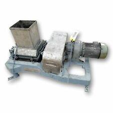 Used Fitzmill Dual Roll Lumpbreaker Lump Breaker Crusher Stainless Steel