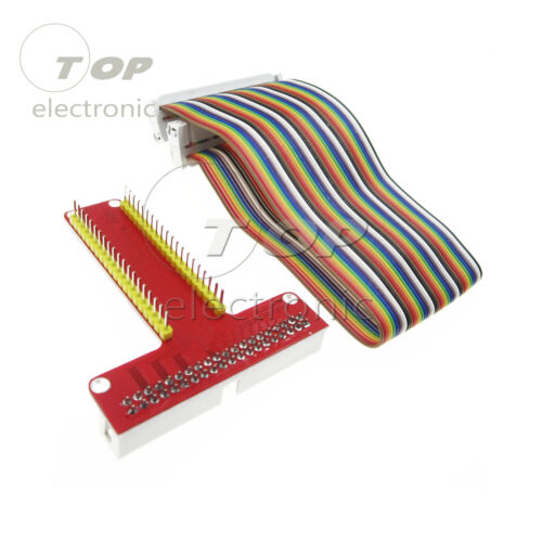 40Pin GPIO Cable For Raspberry Pi B T Type Breakout Expansion Board Pi 2