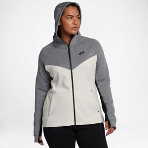 6b1a53d57c98 Nike Sportswear Tech Fleece Women s Full-Zip Hoodie (Plus Size) 1X ...