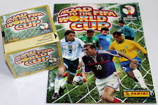 Panini ROAD TO FIFA WORLD CUP 2002 - DISPLAY BOX 50 Tüten packets + ALBUM