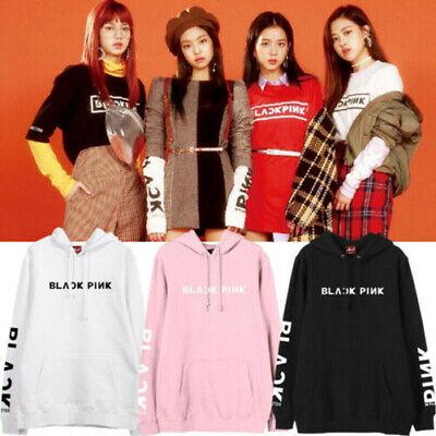 Kpop Blackpink Same Style Hoodie Lisa Jennie Jisoo Ros/Ã Sweater Jacket