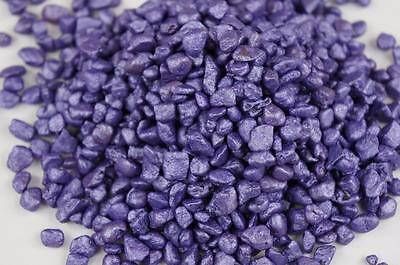 500g Coloured Stones Fish Tank Aquarium Wedding Decorative PURPLE Gravel RU4-12F