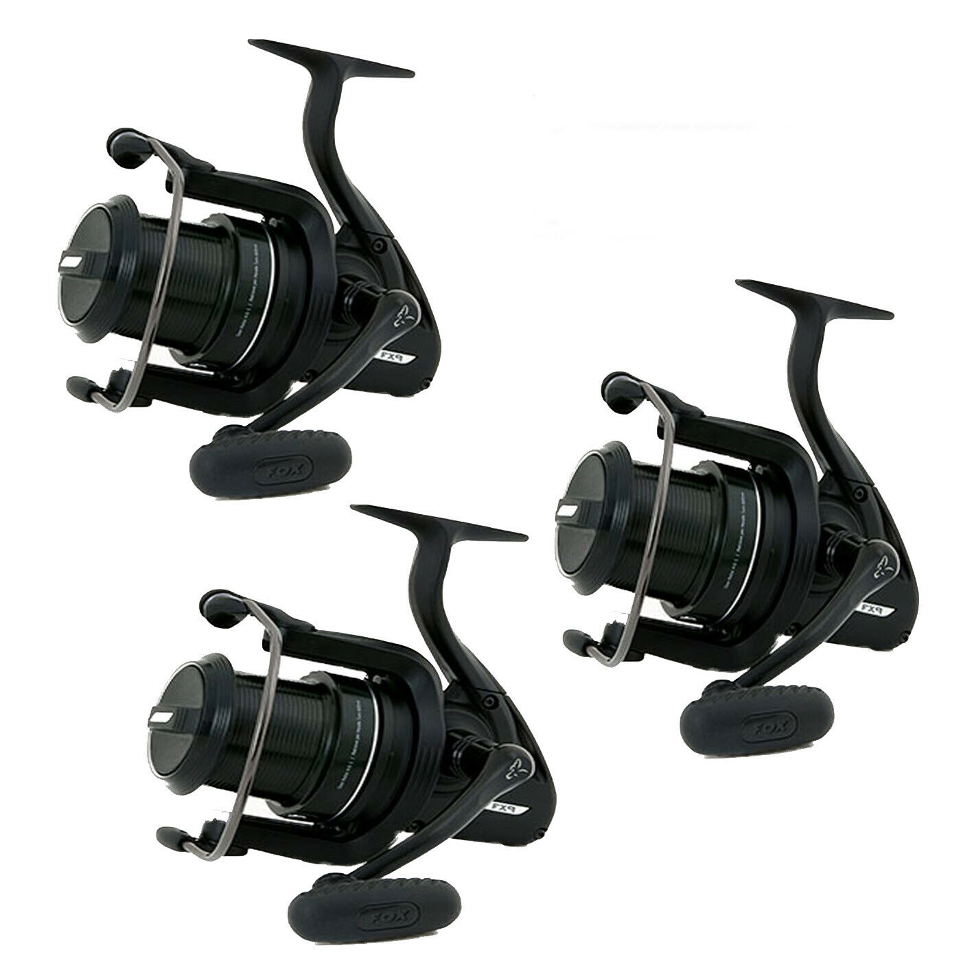 Fox FX9 Mini Big Pit Carp Reels x 3 Brand New Free Delivery