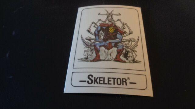 1986 Wonder Bread Masters of the Universe  ( MOTU ) Card - Skeletor  NR-MT