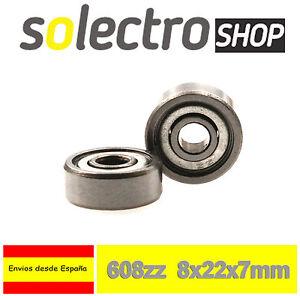 5x-Rodamiento-608zz-8mm-Cojinete-Bolas-Impresora-3d-Reprap-Prusa-I0108