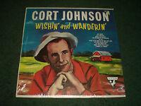 Wishin' And Wanderin' Cort Johnson~RARE 1963 Country~Sutton SU 334~FAST SHIPPING