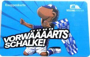 Knappenkarte-Vorwaerts-FC-Schalke-04-Maskottchen-Erwin-Huelle-Restguthaben