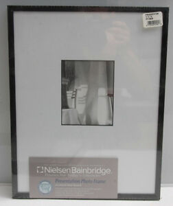 Nielsen-Bainbridge-PF1350B-11x14-Black-4-Ply-Matted-for-4x5-034-White-NOS-S04