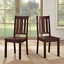 new wood dining room chairs farmhouse kitchen accent, set of 2 freeshipping