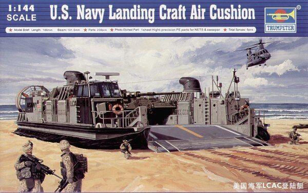 Trumpeter 1 144 LCAC Landing Craft Air Cushion
