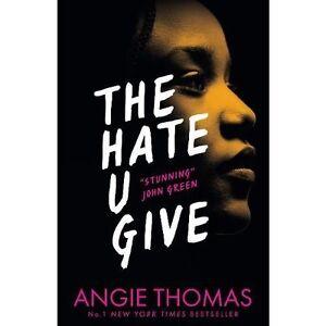 Details Sur La Haine U Vous Donner Angie Thomas Roman Young Adult Fiction Crime Justice Livre Afficher Le Titre D Origine