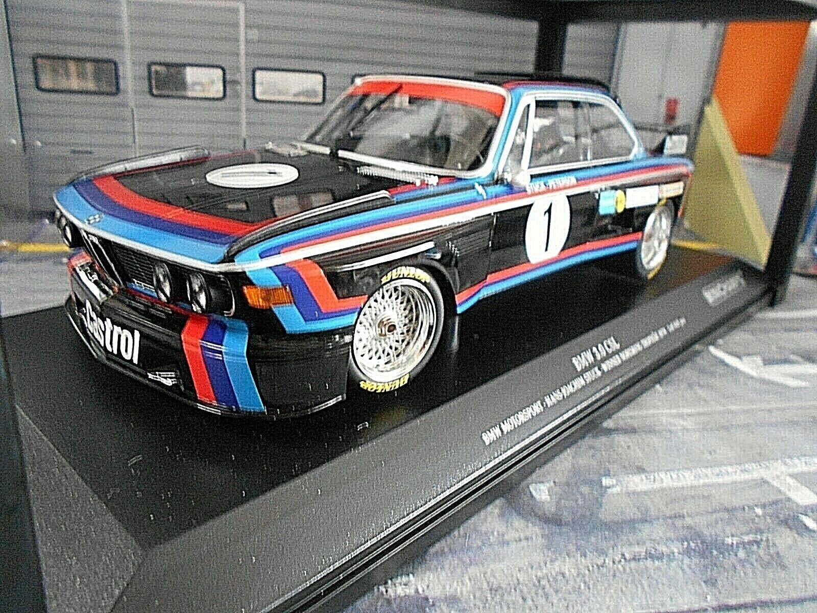 BMW 3.0 CSL NORISRING DRM 1974  1 stuc CASTROL Works Winner Nouveau MINICHAMPS 1 18