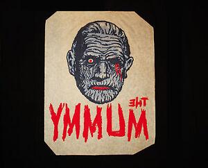 1964 THE MUMMY Mani-Yack IRON-ON Original!