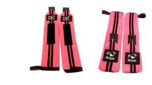 Gym Haltérophilie Poignet Wraps Bandage Puissance Main Support Sangles Entraînement Paire-afficher Le Titre D'origine