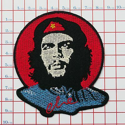 CHE GUEVARA Fully Embroiderd Quality Iron-On Patch