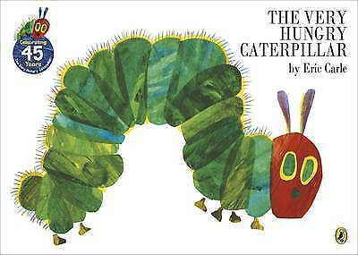 1 of 1 - The Very Hungry Caterpillar by Eric Carle Brand New Paperback Book Bestseller