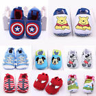 Baby Boys / Girls Toddler Cartoon Cute Soft Sole Crib Prewalker Anti-slip Shoes
