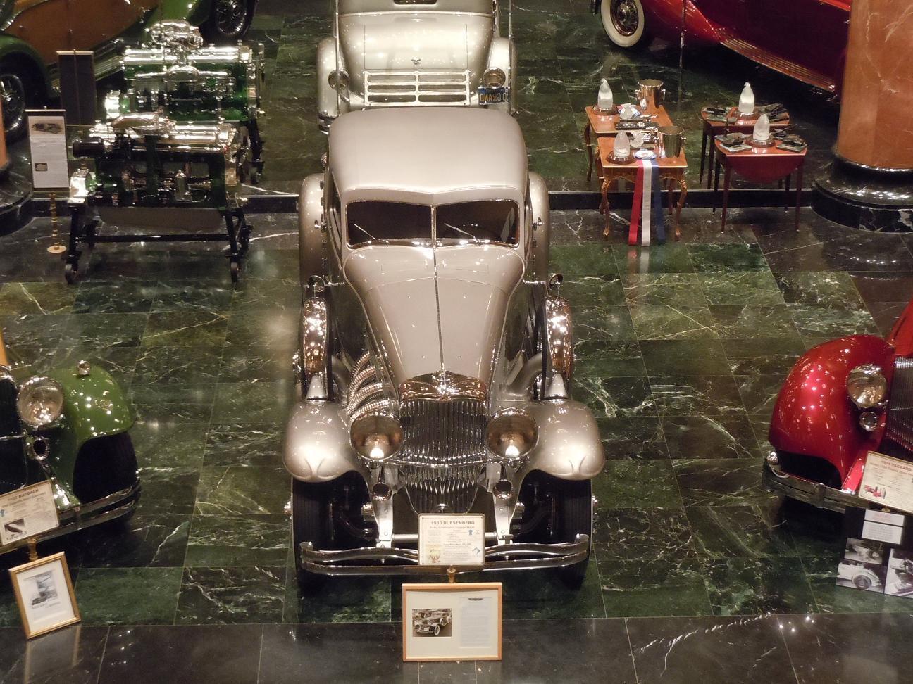 1 43 B&G HISTORIC LIGNE EMC  Vingt mille  DUESENBERG SJ Arlington 1933 USA