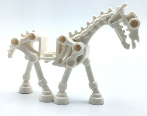 LEGO SKELETON HORSE FIGURE ANIMAL CASTLE FANTASY ERA STEED FIG