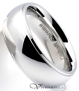 Cobalt Stepped Edge Ring Size 11