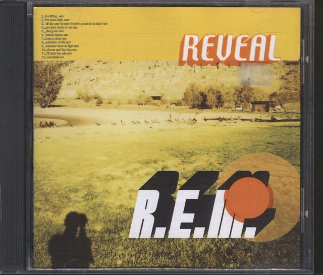 R.E.M. - Reveal CD post free