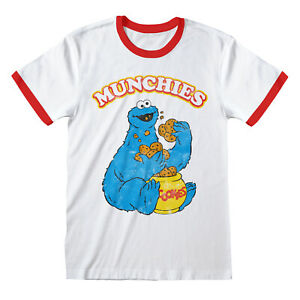 Cookie-Monster-Munchies-T-Shirt-Official-Sesame-Street-NEW-S-M-L-XL-XXL