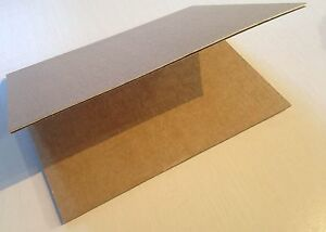 "Flat-Pack LOT 25 THICK Cardboard Folding Storage Mailers 12 3/4"" x 9 3/4"""