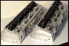 PROMAXX 200cc SBC CHEVY ALUMINUM HEADS 64CC COMBUSTION CHAMBERS. 272-PROMAXX