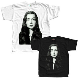 blanc movie poster Toutes Tailles S-5XL La famille Addams: Morticia V5 T-shirts