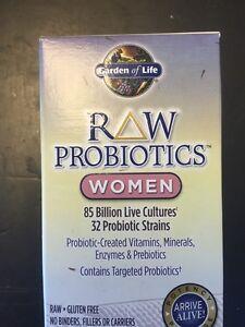 Garden Of Life Raw Probiotics Women 90 Capsules 85 Billion Live Cultures Best
