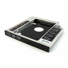 SATA 2nd HDD HD Hard Drive Caddy Case for 9.5mm Universal Laptop CD / DVD-ROM