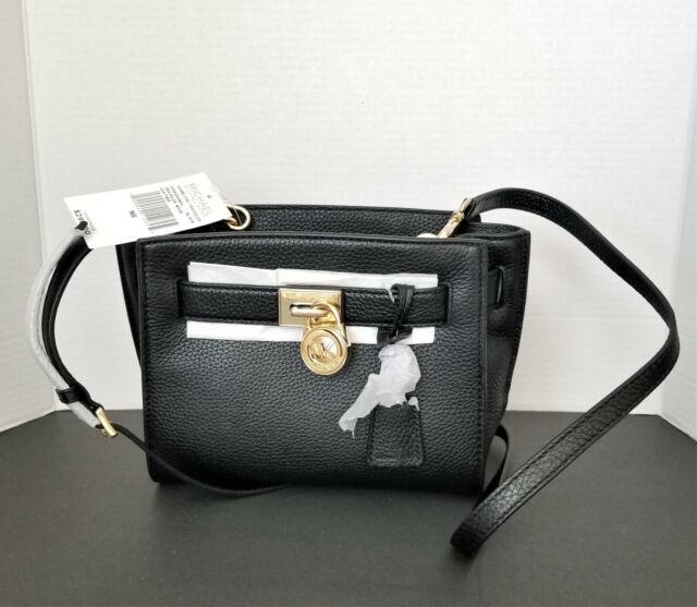 Michael Kors Hamilton Traveler Leather Messenger Shoulderbag Blossom