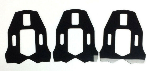 3 Hole Road Bike Pedal Cleat Spacer Shim for SpeedPlay Zero Pedal Outdoor/&Sports