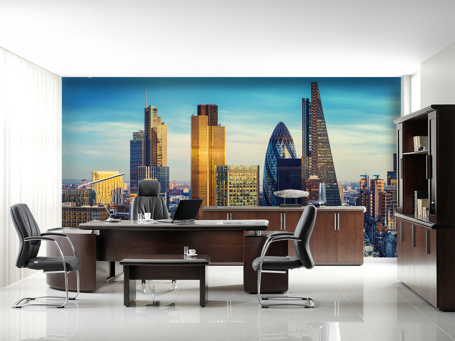 3D City Building 788 Wall Paper Murals Wall Print Wall Wallpaper Mural AU Summer
