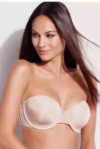 c580ec5ec Star Power by Spanx SHOW GIRLS LACED UP SMOOTHING STRAPLESS BRA NWT ...
