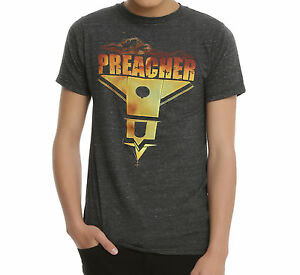AMC-Preacher-TV-Series-PREACHER-CHURCH-T-Shirt-Men-039-s-NEW-Licensed-amp-Official