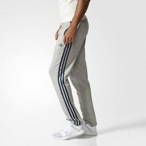 Details about New Adidas Essentials 3 Stripes Pants BK7448 Mens Sweatpants